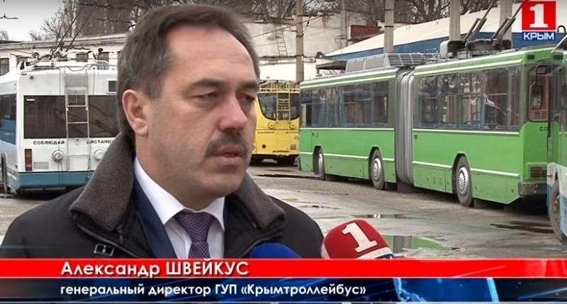 Севастопольским троллейбусам пришёл Швейкус