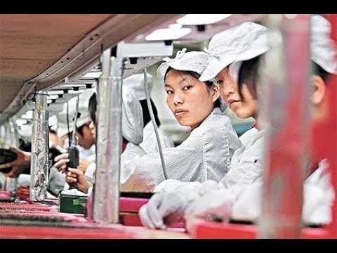 Китайские города-заводы, где живут и работают рабы-китайцы
