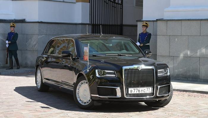 Зарубежные страны интересует автомобиль проекта «Кортеж»