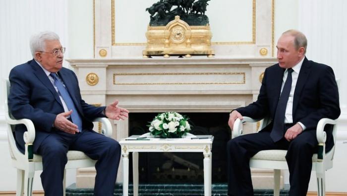 Владимир Путин и Махмуд Аббас обсудили ситуацию на Ближнем Востоке