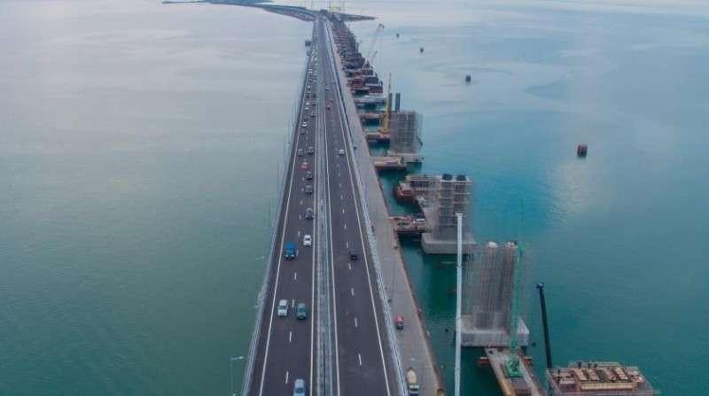 С Крымским мостом разберёмся – украинские СМИ