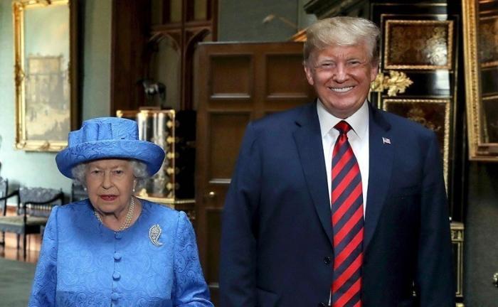 Трамп походя проучил бабушку Лизу из Британии