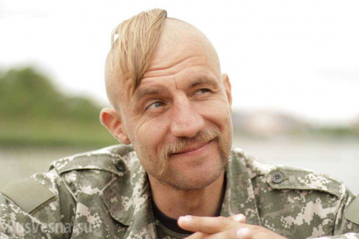 В Киеве побили «героя Майдана» – псевдоказака Гаврилюка (18+)
