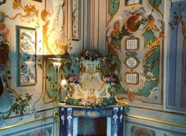 Три зала Китайского дворца вОраниенбауме открыли после реставрации