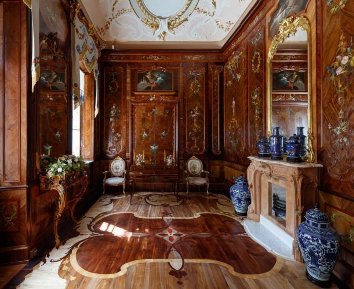 Петербург: три зала Китайского дворца вОраниенбауме открыли после реставрации