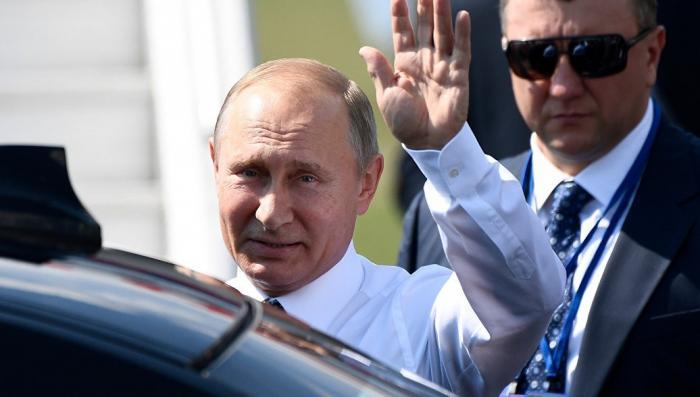 Владимир Путин прибыл в Хельсинки на переговоры с Трампом