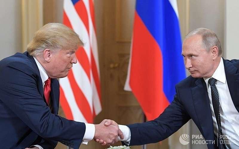 Владимир Путин предложил Дональду Трампу обсудить «болевые точки» в отношениях