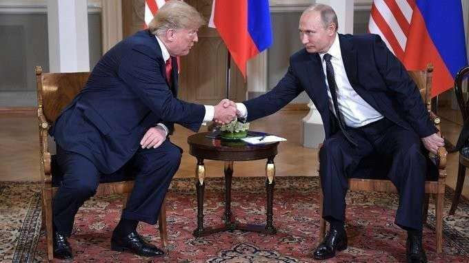 Начало встречи сПрезидентом США Дональдом Трампом