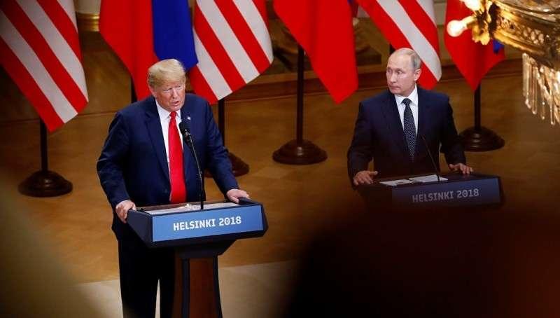 На Дональда Трампа обрушилась цунами критики после встречи с Владимиром Путиным
