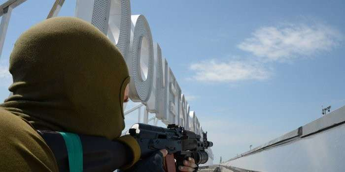 В Донецке произошёл ночной штурм аэропорта