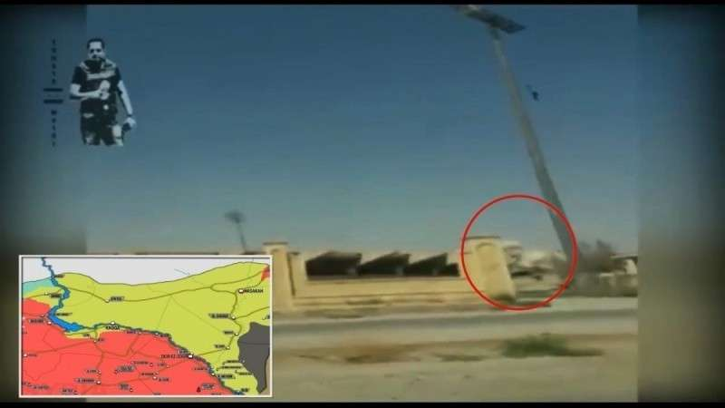Сирия. Теракт против коалиции бандитов США и курдских сил