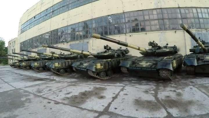 На заброшенной базе на незалежной подростки нашли сотни танков