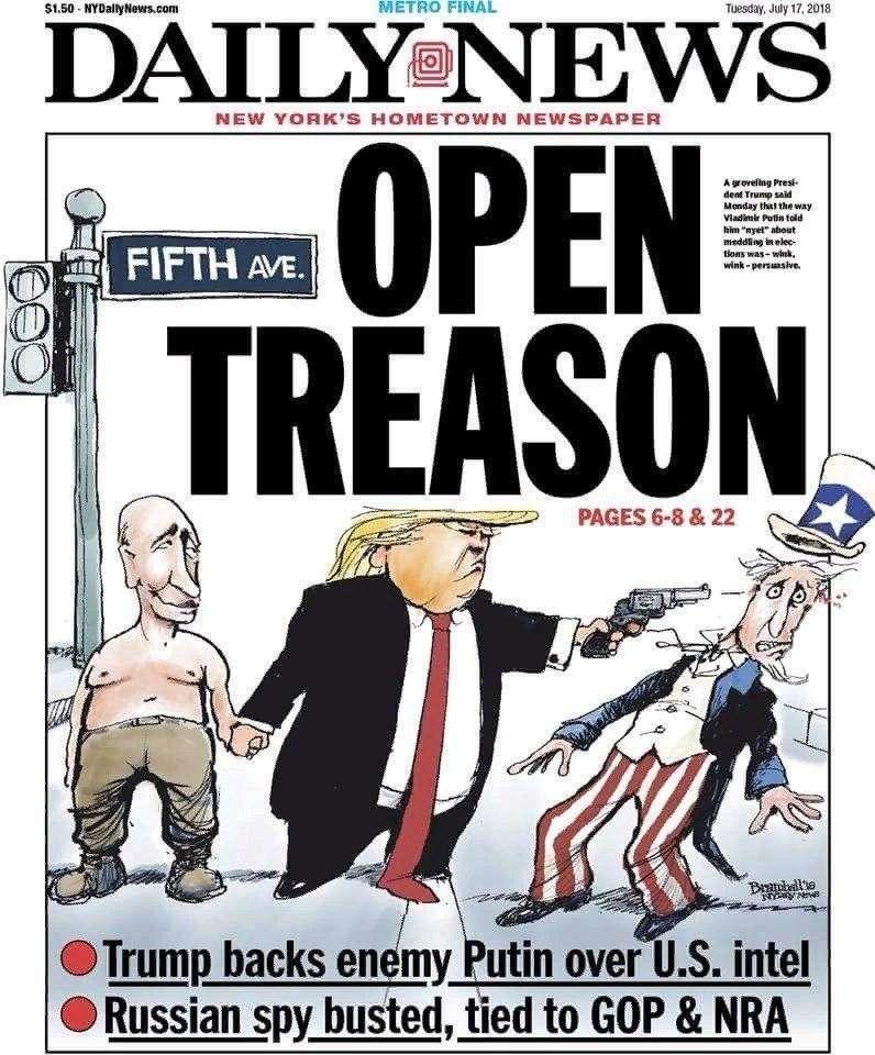 Как зашевелилась западная пресса после встречи Владимира Путина и Дональда Трампа!