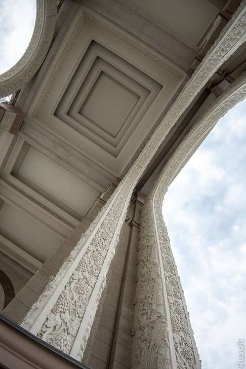 Москва: завершена реконструкция центральной аллеи ВДНХ. Фотоотчёт