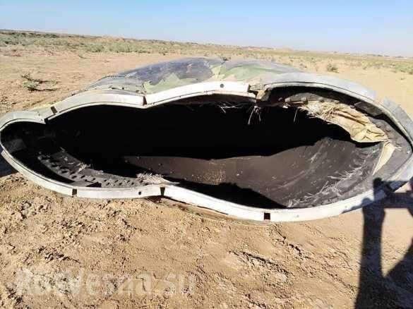 В Сирии разбился неопознанный самолёт коалиции бандитов США | Русская весна