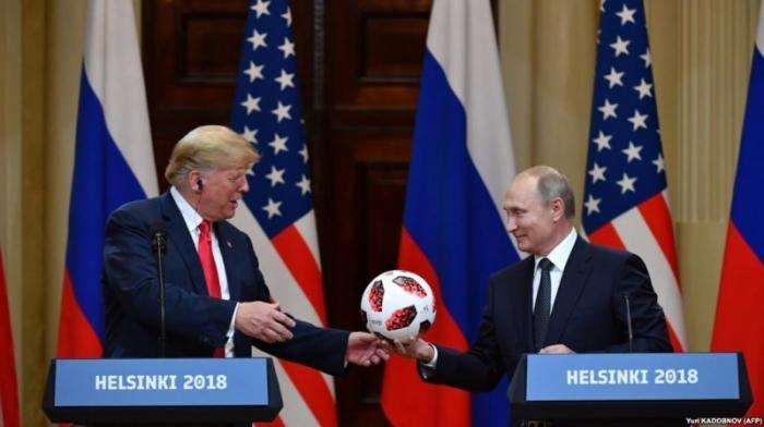 Владимир Путин и Дональд Трамп в глобальной игре