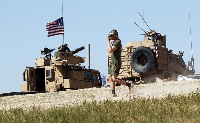 Россия вынудила Пентагон закрыть свою базу Ат-Танф в Сирии