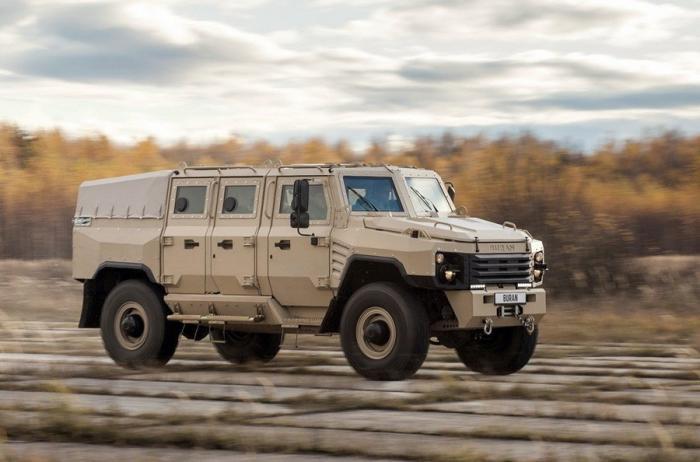 Буран– новый русский бронеавтомобиль, конкурент Тигра