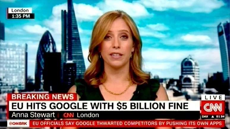 Глобалисты из ЕС оштрафовали коллег из Google на рекордные $5 млрд
