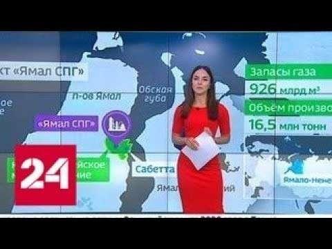 В Китай впервые прибыли танкера с российским сжиженным газом, полученным на «Ямал СПГ»