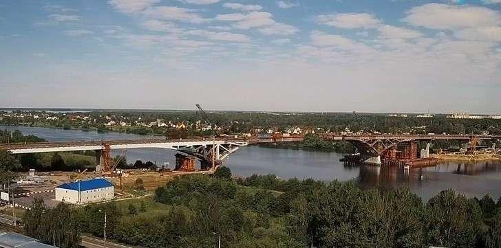 строительство моста 12 июля 2018 г.