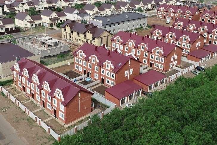 Красивые пригородные поселки Оренбурга