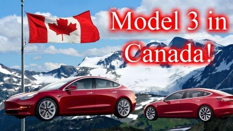 Канада: платёжеспособный спрос на Теслу 3... Всё. США на очереди