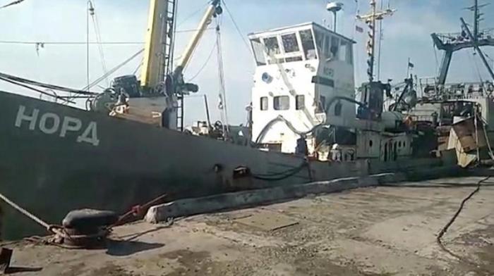 Экипажу российского судна «Норд» разрешили вернуться в Крым