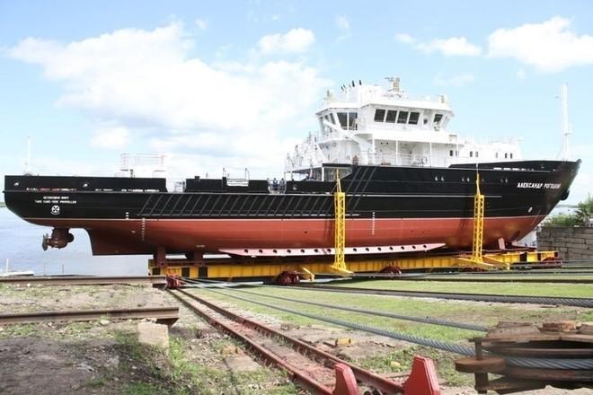 Малое гидрографическое судно для ВМФ было спущено наводу