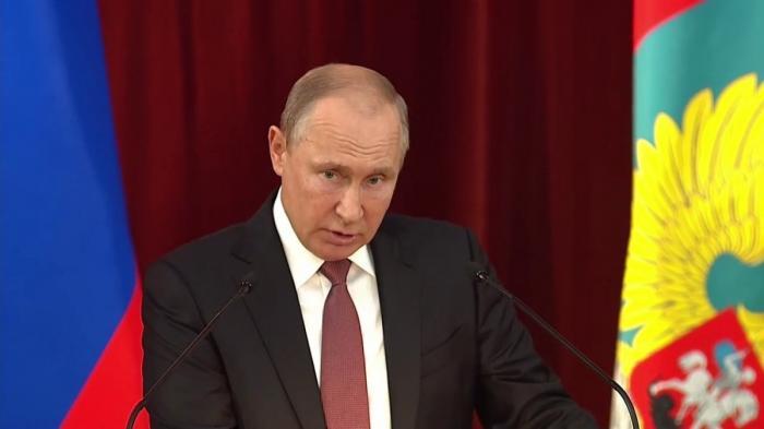 Президент Владимир Путин указал на противников России внутри США