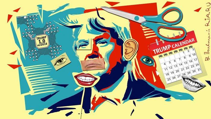 У коварного Кремля есть секретный алгоритм на Дональда Трампа. Фельетон-утечка