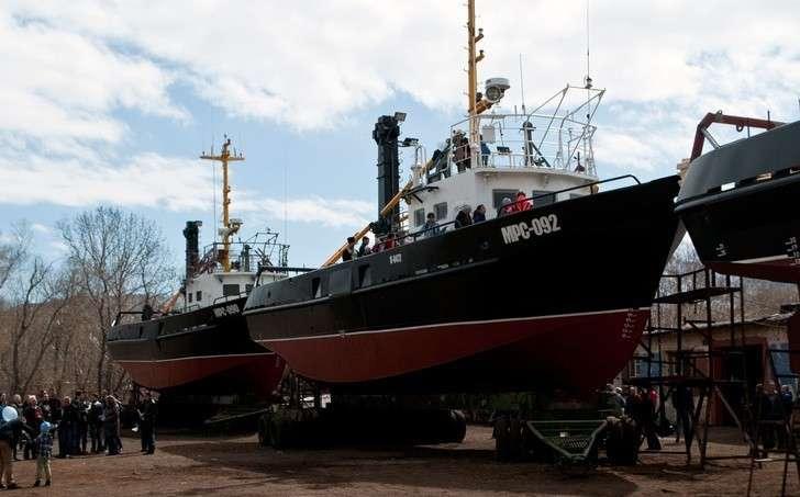 Вилючинская верфь построила четыре малых рыболовных судна