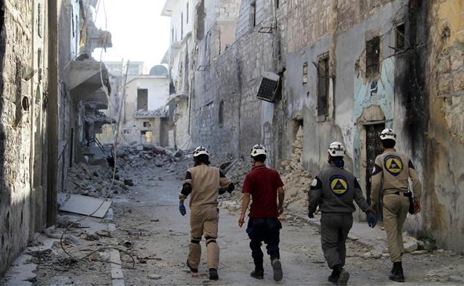Сирия: белые каски бегут от Башара Асада, моля о пощаде