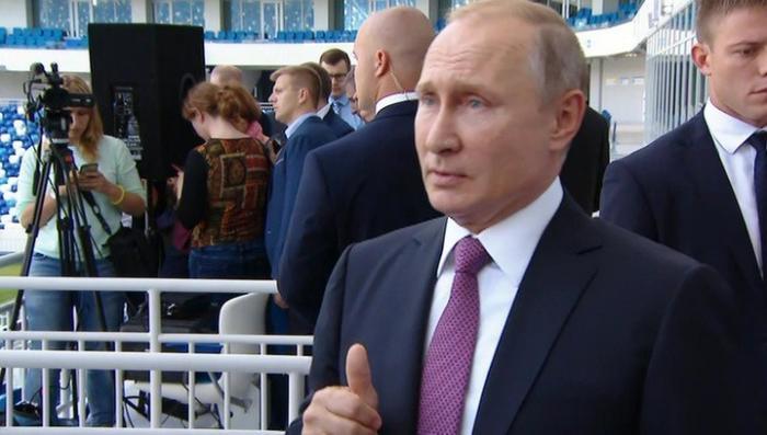 Владимир Путин об изменении пенсионного законодательства: окончательного решения еще нет