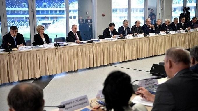 Совместное заседание Совета поразвитию физической культуры