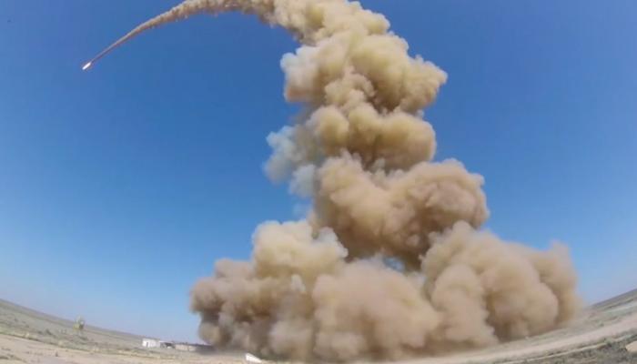 Российские военные испытали новую ракету системы противоракетной обороны (ПРО)