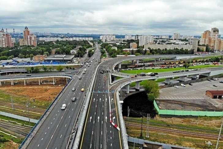 Москва— единственный мегаполис мира сопережающими темпами строительства дорог