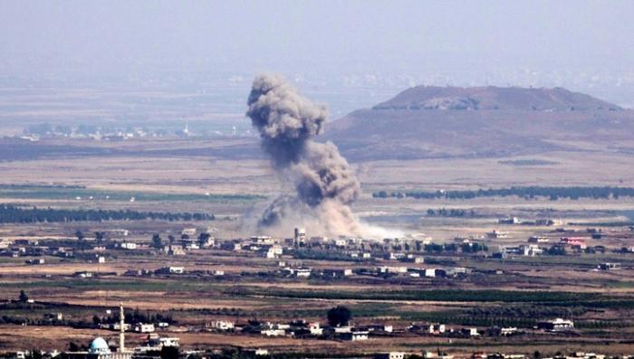 В Сирии коалиция международных террористов нанесла авиаудар по мирным жителям