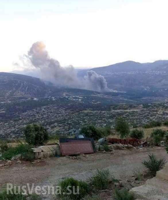 Террористический Израиль нанёс удар по сирийскому военному объекту | Русская весна