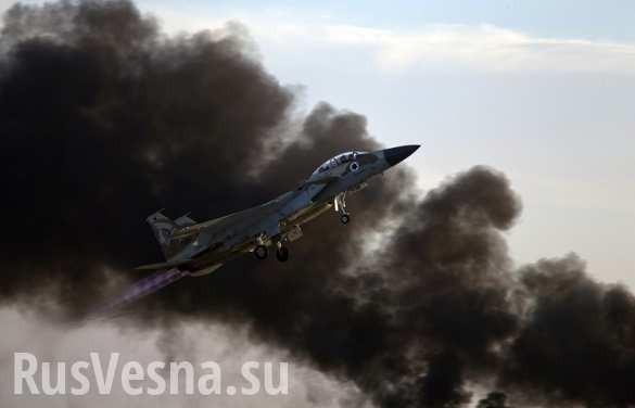 Террористический Израиль нанёс удар по сирийскому военному объекту