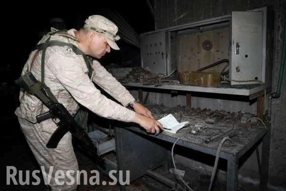 Русские и сирийские военные находят схроны боевиков в Эр-Растанском котле | Русская весна