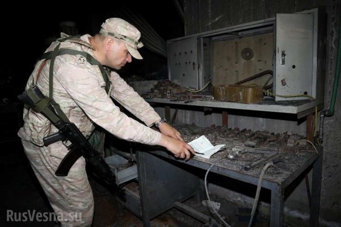 Русские и сирийские военные находят схроны боевиков в Эр-Растанском котле