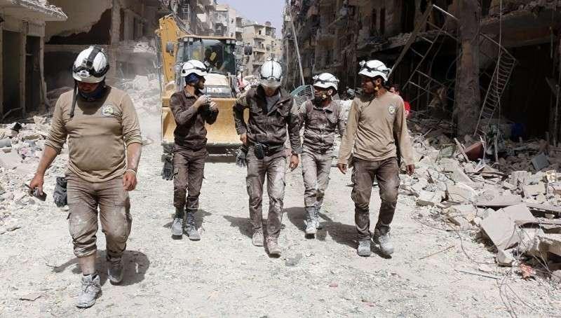 Зачем террористический Израиль эвакуировал провокаторов в белых касках из Сирии?