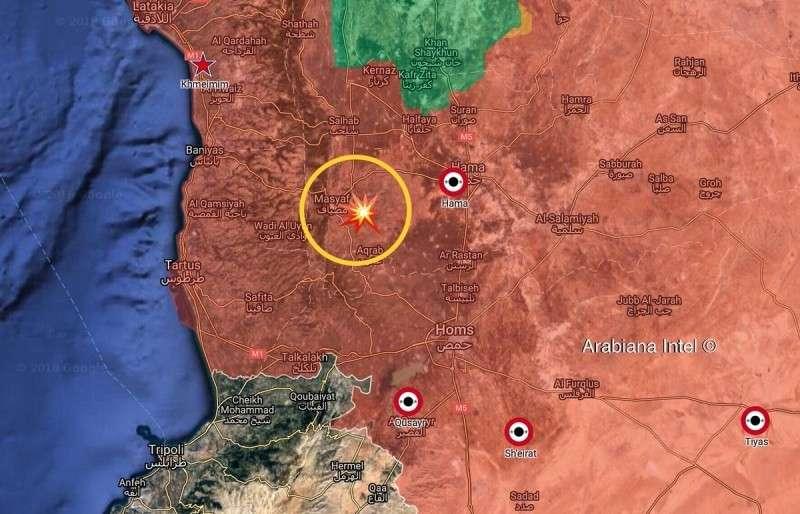 Цели очередного удара Израиля по Сирии