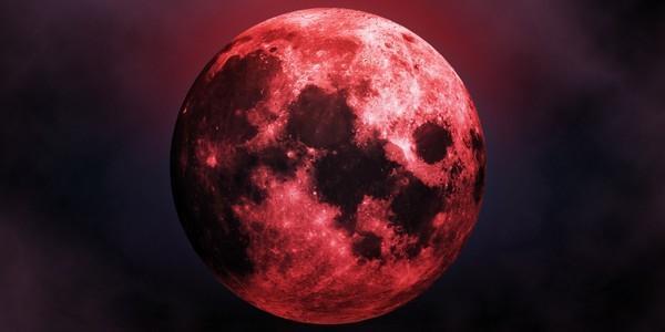 Лунное затмение 27 июля 2018 – не пропустите самую кровавую луну