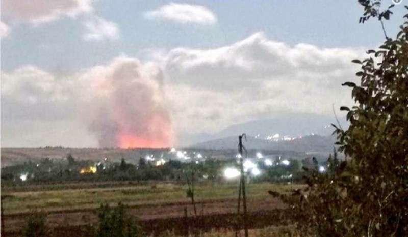Израильские бандиты нанесли ракетный удар по Сирии