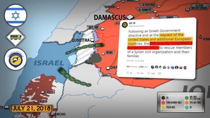 Сирия. Евреи вывезли из Сирии 800 «Белых Касок» и членов их семей