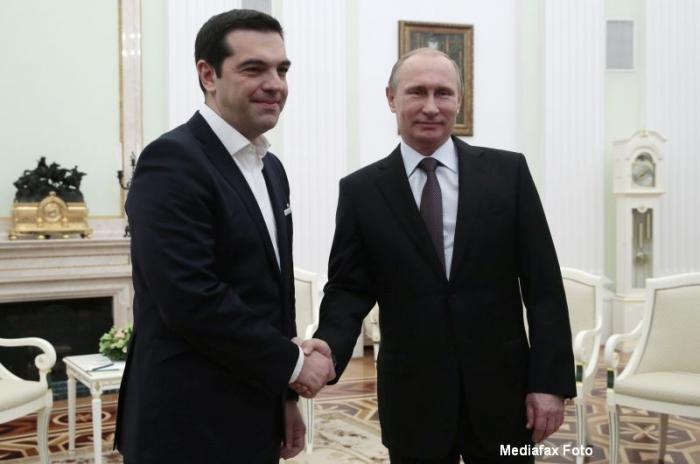 Владимир Путин выразил соболезнования Греции в связи с последствиями лесных пожаров