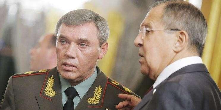 Сергей Лавров и начальник генштаба Валерий Герасимов встретились с Ангелой Меркель
