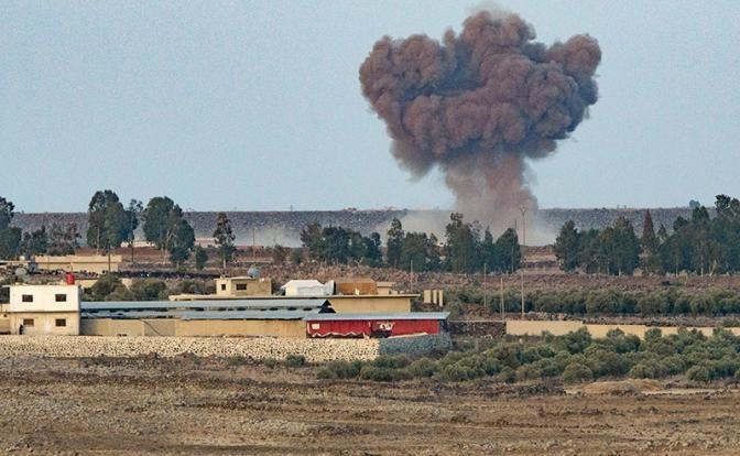 Бандитский Израиль сбивает самолеты ВВС Сирии, с прицелом на Россию